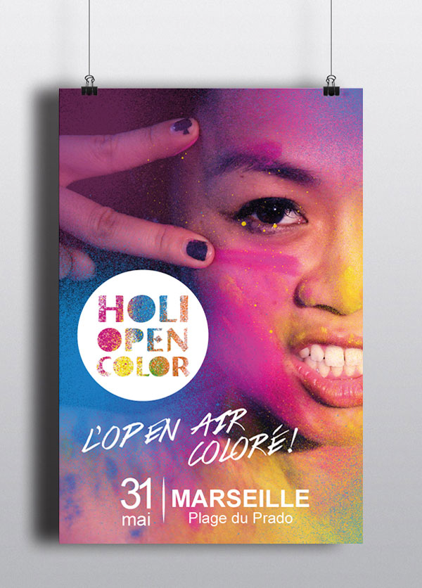Holi Open Color